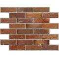 PVC panel Premium Brick top gun