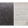 Obkladová deska Polyform 10 x 640 x 4100 mm oboustranná MYRIADE BLACK/DUB BĚLENÝ