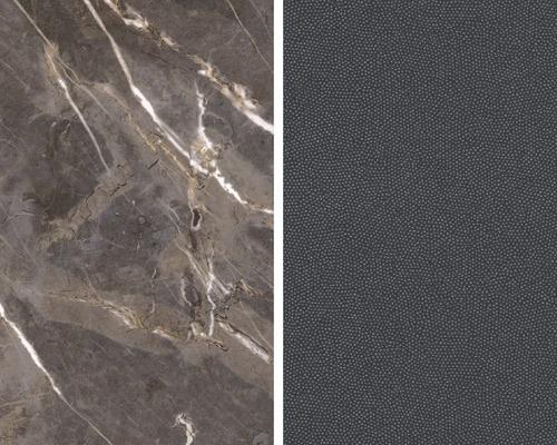 Obkladová deska Polyform 10 x 640 x 4100 mm oboustranná KÁMEN HNĚDÝ/KAVIÁR