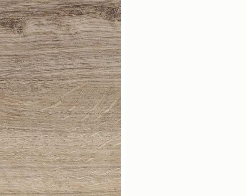 Obkladová deska Polyform 10 x 640 x 4100 mm oboustranná DUB ANTIK/BÍLÁ