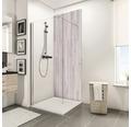 Zadní stěna sprchového koutu Schulte Decodesign dekor dub světlý 100x210 cm