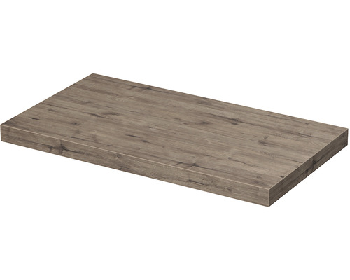 Deska pod umyvadlo 100 x 50 x 5,4 cm dub welling