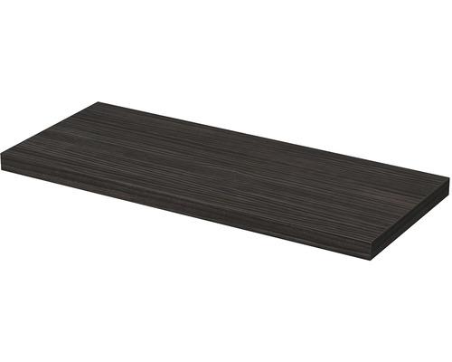Deska pod umyvadlo 140 x 50 x 5,4 cm hacienda černá