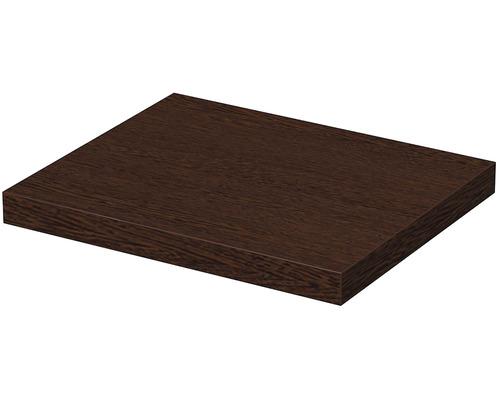 Deska pod umyvadlo 80 x 50 x 5,4 cm wenge