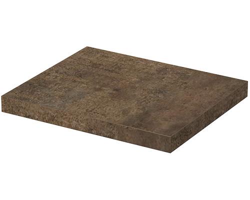 Deska pod umyvadlo 80 x 50 x 5,4 cm patina bronze