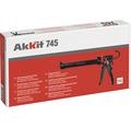 Akkit 645 aplikační pistole na kartuše PROFI s pogumovanou rukojetí