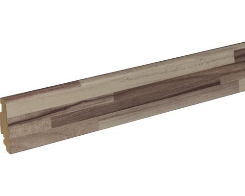 Soklová lišta Skandor Listone Bianco FU60L 19x58x2400 mm