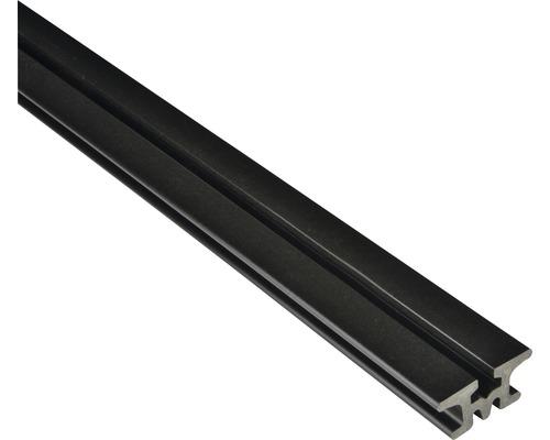 Podkladní hranol pro terasová prkna WPC Konsta 60 x 30 x 2500 mm černý