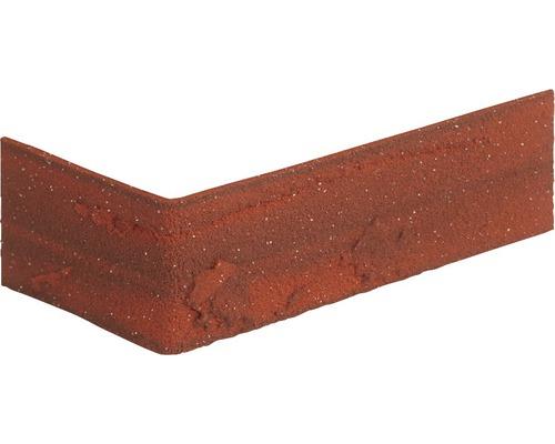 Obkladový pásek rohový Elastolith COLORADO 24x7,1 cm staročervený