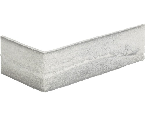Obkladový pásek rohový Elastolith NEBRASCA 24x7,1 cm šedý barevný