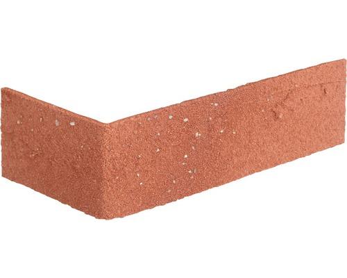 Obkladový pásek rohový Elastolith SAHARA 24x7,1 cm červený