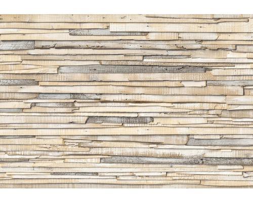 Fototapeta Whitewashed Wood 368 x 254 cm