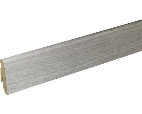 Soklová lišta Skandor Chalk Hickory FU60L 19x59x2400 mm