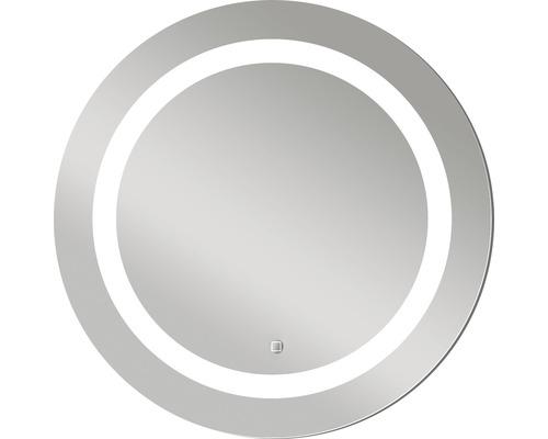 Zrcadlo do koupelny DSK Silver Sun LED Ø 59 cm