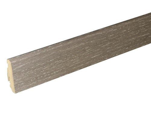 Soklová lišta Skandor dub matně šedý SU60L 19x58x2400 mm
