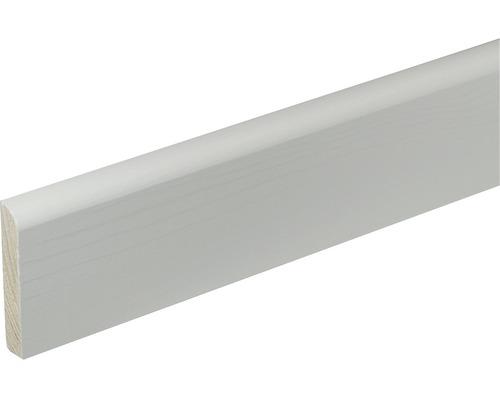 Podlahová lišta Konsta SF377 10 x 58 x 2400 mm borovice bílá lakovaná