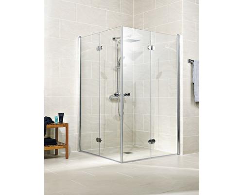 Sprchový kout Schulte Garant 100x100 cm průhledné sklo chrom