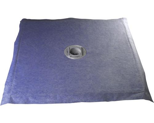 Sprchový podlahový prvek čtvercový Schulte 100x100 cm vodorovný odtok