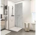 Zadní stěna sprchového koutu Schulte Decodesign dekor kámen šedý světlý 150x255 cm
