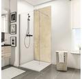 Zadní stěna sprchového koutu Schulte Decodesign dekor kámen vápenec světlý 150x255 cm