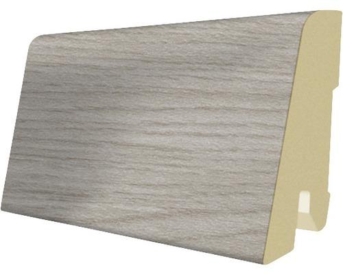 Podlahová lišta MDF buk 17 x 60 x 2400 mm
