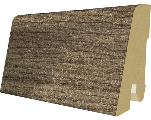Podlahová lišta MDF dub 17 x 60 x 2400 mm