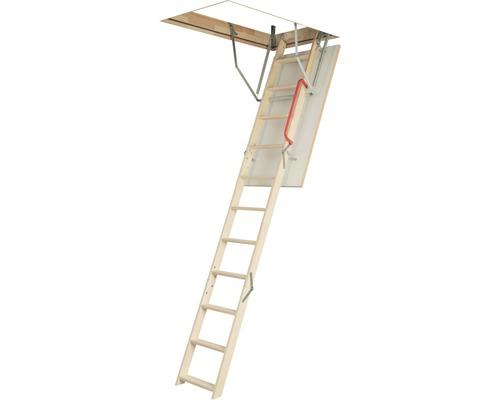Půdní schody OLK termo 120 x 60 cm, 3dílné