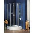 Sprchový kout Schulte Lugano R500 80x80 cm hliník