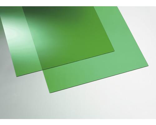 Plexisklo GUTTA akrylátové 1000 x 500 x 3 mm hladké, zelené