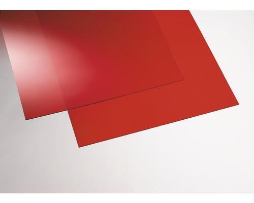 Plexisklo GUTTA akrylátové 500 x 500 x 3 mm hladké, červené