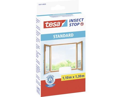 Síť proti hmyzu, okno, bílá 1,1x1,3m