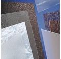 Plexisklo GUTTA polystyrol 1000 x 500 x 5 mm kůra jemná, čiré