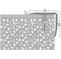 ALU schodový profil NOVA, zlatý 35x30mm/1m