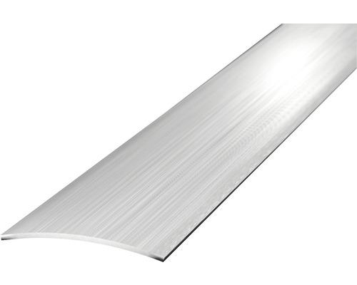 Ocelový prechodový profil broušený 1m 30mm samolepící