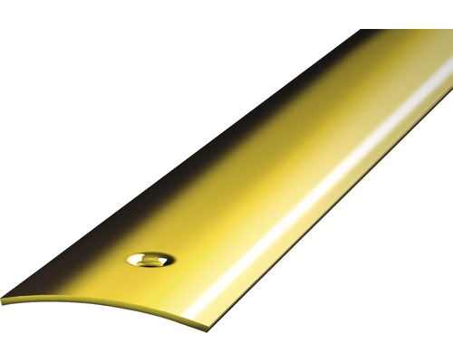 Přechodový profil 1m 30mm šroubovací, mosaz (předvrtaný)
