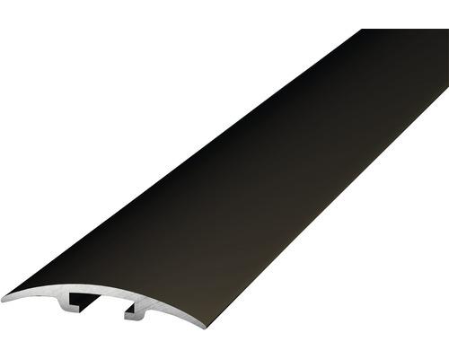 Alu přechodový profil 100cm bronz 33mm; D.O.S. - nešroubuje se