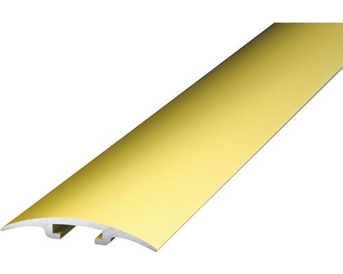 Alu kobercový profil, zlatý, 1m 33mm; nazážecí (na trn)