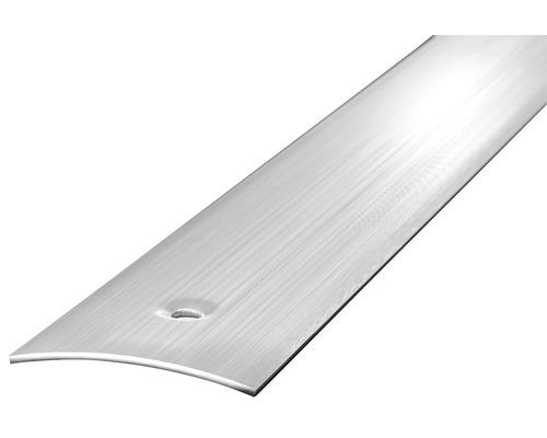 Ocelový prechodový profil broušený 1m 30mm šroubovací (předvrtaný)