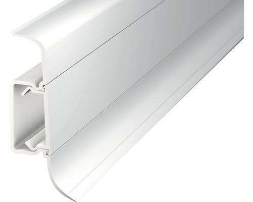 Kanálková lišta KSL50 50x22mm; 2,5m bílá; středový kabelový kanál