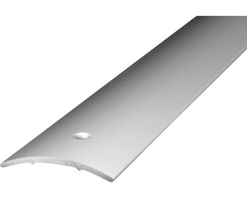 ALU přechodový profil stříbrný 2,7m 30x1,6mm; šroubovací (předvrtaný)