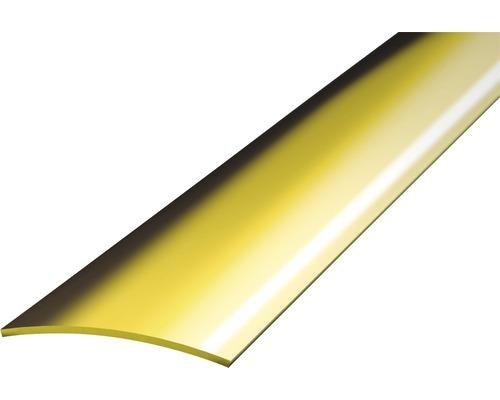Přechodový profil 1m 30mm samolepící, mosaz