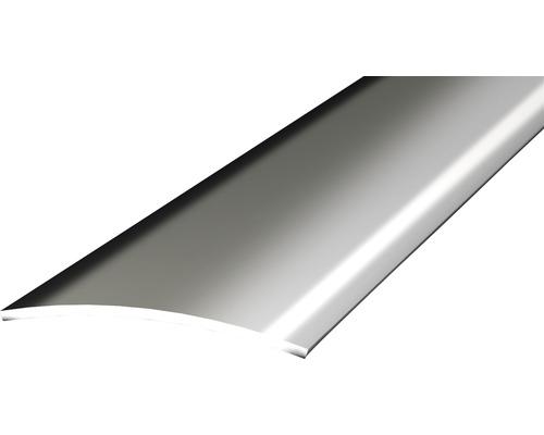 Přechodový profil leštěný 1m 30mm samolepící, ocelový