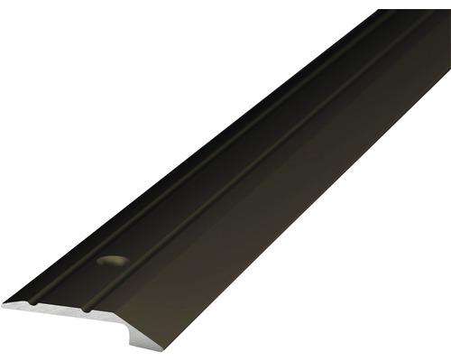 ALU ukončovací profil bronz 1m 4-5x30mm šroubovací (předvrtaný)