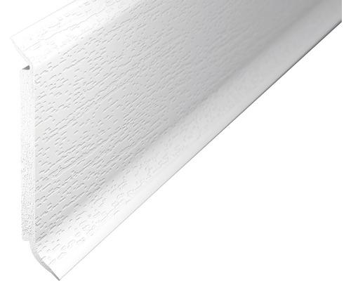 Soklová lišta s jádrem bílá 60mm; 2,5m