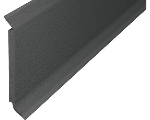Soklová lišta s jádrem tm.šedá 2,5m 60mm