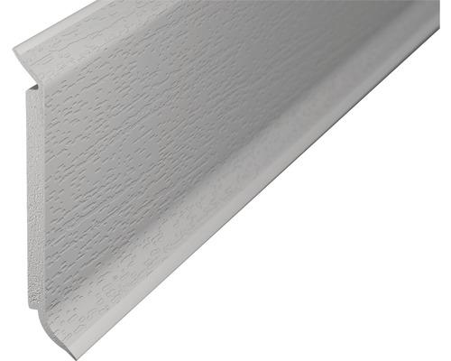 Soklová lišta s jádrem světle šedá; 60mm; 2,5m