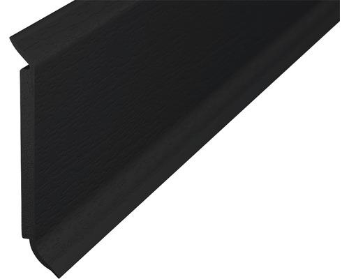 Soklová lišta s jádrem černá 60mm; 2,5m