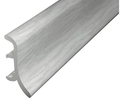 Soklová lišta pěnová stříbrno-šedá 2,5m 48mm