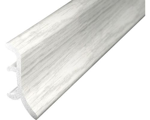 Soklová lišta pěnová jasan bílý 2,5m 48mm