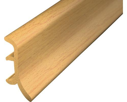 Soklová lišta pěnová buk 2,5m 48mm